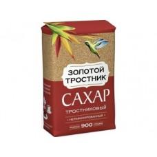 Сахар тростниковый ЗОЛОТОЙ ТРОСТНИК,900г, 1 штука