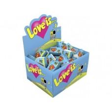 Жевательная резинка LOVE IS... 100х4,2г, 1 упаковка