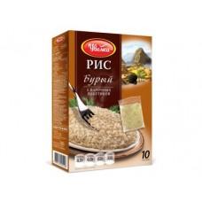 Рис бурый УВЕЛКА пакетированный, 5х100г, 1 упаковка