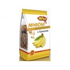 Мюсли ОГО! запеченные с бананом, 350г, 1 штука