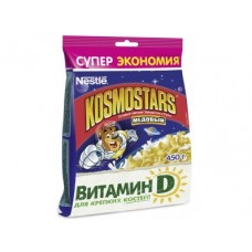 Готовые завтраки NESTLE Kosmostars Медовый, 450г, 1 штука