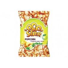 Попкорн POPSTAR со вкусом сыра и лука, 45г, 1 штука