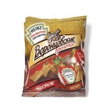 Греночки ВОРОНЦОВСКИЕ Чеснок+томатный кетчуп, 50г, 2 упаковки