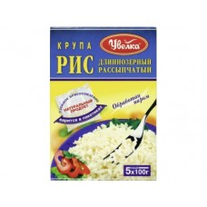 Рис длинный пропаренный УВЕЛКА, 100гх5, 2 коробки