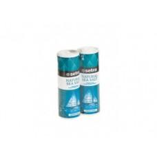 Соль морская мелкая йодированная SETRA,250г, 2  штуки