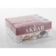 Чай AKBAR черный, 25*2г, 3 штуки