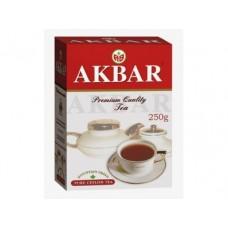 Чай AKBAR черный крупнолистовой, 250г, 1 штука