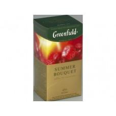 Чай  GREENFIELD Summer Bouqet травяной в пакетиках, 25х2г, 4 штуки