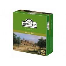 Чай AHMAD зеленый пакетированный, 100х2г, 1 штука