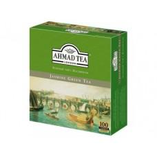 Чай AHMAD зеленый с жасмином пакетированный, 100х2г, 1 штука