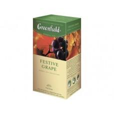 Чай GREENFIELD festive grape, 25x1,5г, 2 штуки