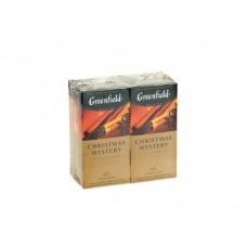 Чай GREENFIELD christmas mystery, 25х1,5, 2 штуки