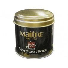 Чай MAITRE мэтр de lux, черный листовой , 100г, 2 штуки