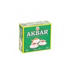 Чай AKBAR зеленый, 100х2г, 1 штука