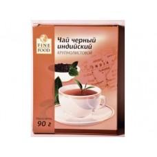 Чай FINE FOOD индийский черный листовой, 90г, 2 штуки