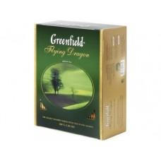 Чай GREENFIELD Flying Dragon зеленый, 100 пак., 1 упаковка