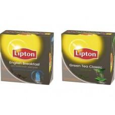 Чай  LIPTON english breakfast пакетированный, 2г*100шт, 1 упаковка
