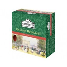 Чай AHMAD english breakfast черный, 100x2г, 1 штука