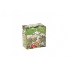 Чай AHMAD зеленый клубничный мусс пакетированный, 20х1,8г, 1 штука