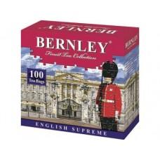 Чай BERNLEY english supreme черный пакетированный, 100х2г, 1 штука