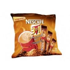 Кофе NESCAFE 3в1 карамель, 50x20г, 1 упаковка