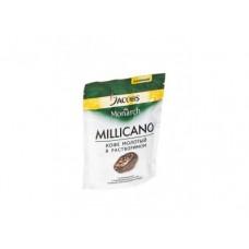 Молотый кофе в растворимом JACOBS MONARCH millicano, 75г, 1 штука