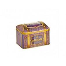 Чай AKBAR черный, в шкатулке, 150г, 1 штука