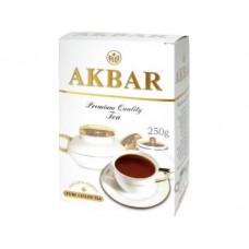Чай AKBAR черный золотая серия, 250г, 1 штука