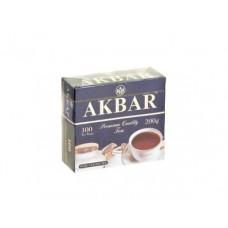 Чай AKBAR черный элитная серия, 100х2г, 1 штука
