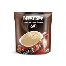Кофе порционный NESCAFE 3В1 Карамель, 20х20г, 1 упаковка