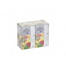 Чай AHMAD черный яблоко/мята пакетированный, 20х1,8г, 2 упаковки