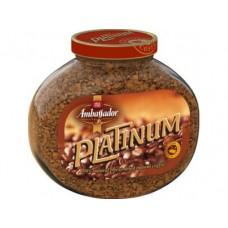 Растворимый кофе AMBASSADOR Platinum, 190г, 1 штука