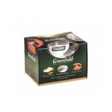 Промо-набор GREENFIELD 3х50г с чайной парой, 1 штука