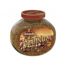 Растворимый кофе AMBASSADOR Platinum, 95г, 1 штука