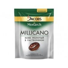 Кофе JACOBS MONARCH Millicano молотый в растворимом, 75г, 1 штука
