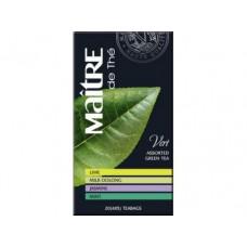Чай MAITRE зеленый ассорти Класик, 40г, 1 штука