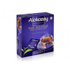 Чай ALOKOZAY Earl Grey черный пакетированный, 100х2г, 1 штука