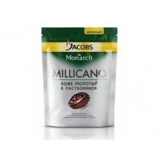 Кофе JACOBS MONARCH Millicano молотый в растворимом, 150г, 1 пакет