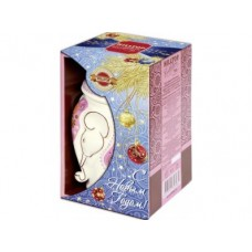 Керамическая чайница HILLTOP Слон земляника со сливками, 100г, 1 штука