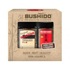 Растворимый кофе BUSHIDO Промо-пак, 100+50г, 1 штука
