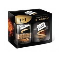 Растворимый кофе CARTE NOIRE Промо-набор 1+1, 140г, 1 штука