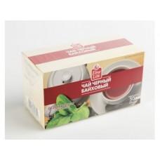 Чай FINE LIFE черный с бергамотом, 25х2г, 2 упаковки