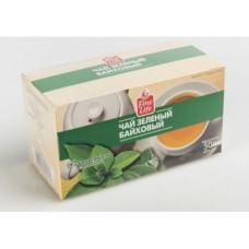 Чай FINE LIFE зеленый, 25х2г, 2 упаковки