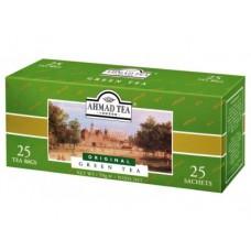 Чай AHMAD TEA зеленый, 25х2г, пакетированный чай, 3 штуки