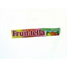 Жевательные конфеты FRUITTELLA фемели пак, 42,5г, 5 штук