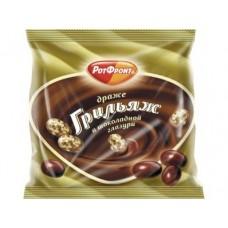 Драже РОТФРОНТ Грильяж в шоколадной глазури, 200г, 3 штуки