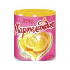 Мармелад МАРМЕЛАНДИЯ Лимонные дольки, 250г, 2 штуки