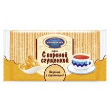 Вафли КОЛОМЕНСКОЕ с вареной сгущенкой, 220г, 4 штуки