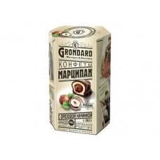 Конфеты GRONDARD Марципан с ореховой начинкой, 140г, 1 штука