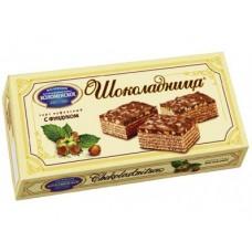 Вафельный торт ШОКОЛАДНИЦА с фундуком, 270г, 1 упаковка